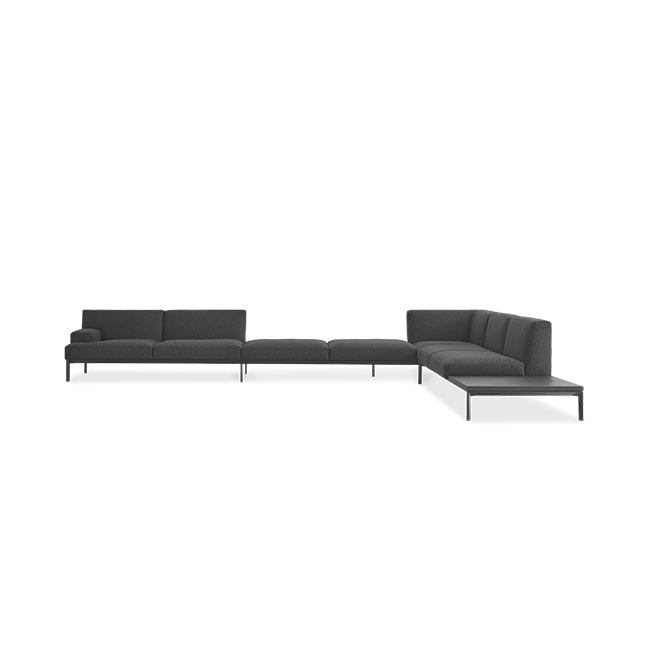 [Lapalma/라팔마] ADD SOFT Corner sofa