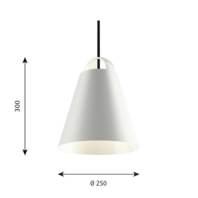 [Louis Poulsen/루이스폴센] Above Suspension Lamp Ø 25 cm // 어보브 서스펜션 램프 Ø 25 cm