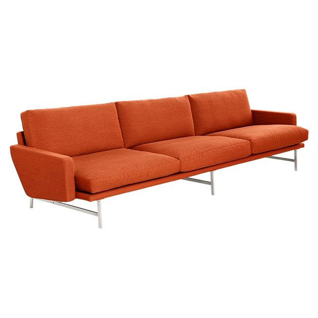 [Fritz Hansen/프리츠한센] LISSONI Sofa 3 Seater (재질 및 색상 선택 가능) // 리소니 소파 3-시터 (재질 및 색상 선택 가능)