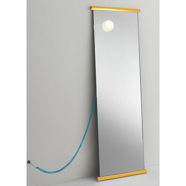 [GLAS ITALIA/글라스 이탈리아] Ecco Mirror Turquoise / Yellow // 에코 미러 터쿼이즈 / 옐로우