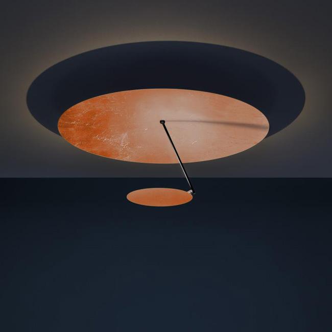 [Catellani&Smith/카텔라니&스미스] Lederam C180 ceiling light - black & copper & black // 레데람 C180 실링 라이트 - 블랙 & 코퍼 & 블랙