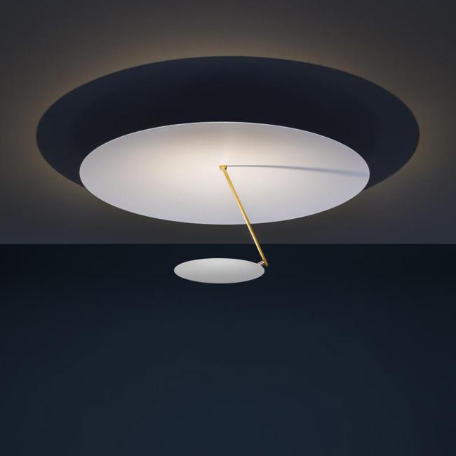 [Catellani&Smith/카텔라니&스미스] Lederam C180 ceiling light - white & gold // 레데람 C180 실링 라이트 - 화이트 & 골드