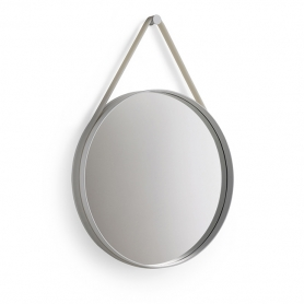 [HAY/헤이] Strap Mirror L (grey) // 스트랩 미러 L (그레이)