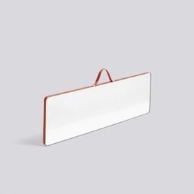 [HAY/헤이] Ruban Mirror rectangular L (red) // 루반 미러 직사각 L (레드)
