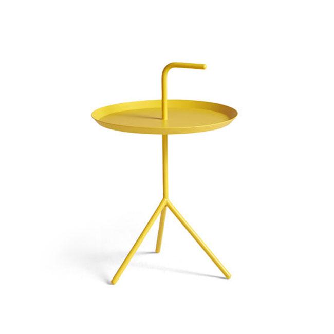 [HAY/헤이] DLM Side Table-sun yellow (ø38 x H58 cm) // DLM 사이드 테이블-썬 엘로우 (ø38 x H58 cm)
