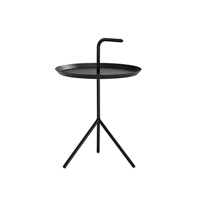 [HAY/헤이] DLM Side Table-black (ø38 x H58 cm) // DLM 사이드 테이블-블랙 (ø38 x H58 cm)