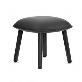 [Normann Copenhagen/노만코펜하겐] Ace Footstool Black Oak - Ultra Leather // 에이스 풋스툴 블랙 오크 - Ultra Leather