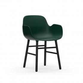 [Normann Copenhagen/노만코펜하겐] Form Armchair Black Oak - Green // 폼 암체어 블랙 오크 - Green