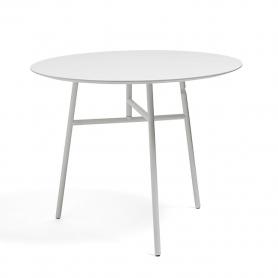 [HAY/헤이] Tilt Top Table - White // 틸트 탑 테이블 - 화이트