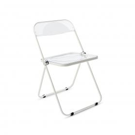 [Castelli/카스텔리] Plia Cane Folding Chair / transparent // 플리아 케인 폴딩 체어 / transparent
