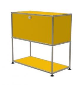 [USM Haller/유에스엠 할러] 1X2 Module System (1-top-door, 1-pannel, W79 x H74) // 1X2 모듈 시스템 (1-top-door, 1-pannel, W79 x H74)