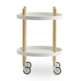 [normann copenhagen/노만코펜하겐] Block Table Ø45cm - White // 블록 테이블 Block Ø45cm - 화이트