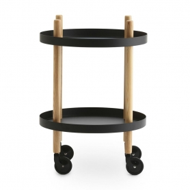 [normann copenhagen/노만코펜하겐] Block Table Ø45cm - Black // 블록 테이블 Block Ø45cm - 블랙