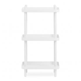 [normann copenhagen/노만코펜하겐] Block Shelf - White/White // 블록 선반 - 화이트/화이트