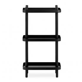 [normann copenhagen/노만코펜하겐] Block Shelf - Black/Black // 블록 선반 - 블랙/블랙