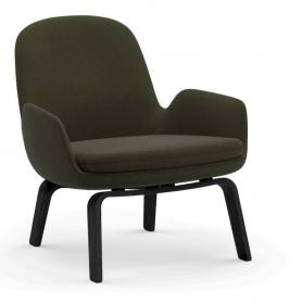 [Normann Copenhagen/노만코펜하겐] Era Lounge Chair Low Black - Fame // 에라 라운지체어 로우 블랙 - Fame