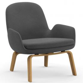 [Normann Copenhagen/노만코펜하겐] Era Lounge Chair Low Oak - Fame Hybrid // 에라 라운지체어 로우 오크 - Fame Hybrid
