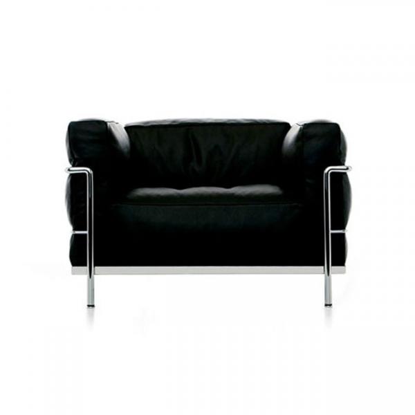 [Cassina/까시나] LC3 Sofa (1 Seat) 구스폼 // LC3 소파 (1 시트) 구스폼 (Cat.Z)
