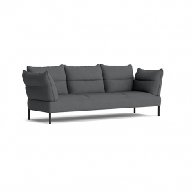 [HAY/헤이] Pandarine 3 Seater Sofa Reclining Armrest Black Oak - Surface by HAY 190 // 팬더린 3시터 소파 블랙 오크 - Surface by HAY 190