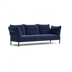 [HAY/헤이] Pandarine 3 Seater Sofa Reclining Armrest Oak - Lola navy / Uph legs // 팬더린 3시터 소파 오크 - Lola navy / Uph legs