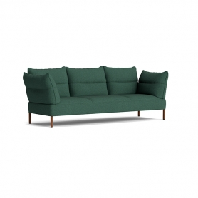 [HAY/헤이] Pandarine 3 Seater Sofa Reclining Armrest Walnut - Olavi by HAY 16 // 팬더린 3시터 소파 월넛 - Olavi by HAY 16