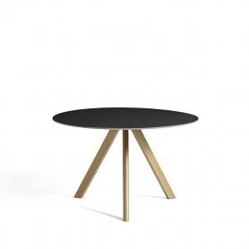 [Hay/헤이] Copenhague CPH20 Table Ø120cm Water-based Lacquered Oak - Black Linoleum // 코펜하게 CPH20 테이블 Ø120cm 오크 - 블랙