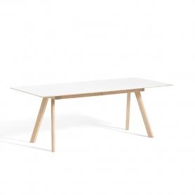 [HAY/헤이] Copenhague CPH30 Extendable L200/400 Soaped Solid Oak - White Laminate // 코펜하게 CPH30 Extendable L200/400 오크 - 화이트