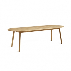 [HAY/헤이] Triangle Leg Table 250 - Oiled Oak // 트라이앵글 레그 테이블 250 오크