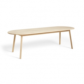 [HAY/헤이] Triangle Leg Table 250 - Soaped Oak // 트라이앵글 레그 테이블 250 오크