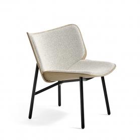 [HAY/헤이] Dapper Lounge Chair // 대퍼 라운지체어 블랙 - 코다 100