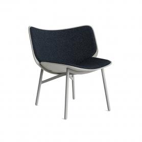 [HAY/헤이] Dapper Lounge Chair // 대퍼 라운지체어 그레이 - 페어웨이 다크블루 308-288