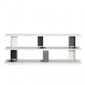 [ClassiCon/클래시콘] Paris Shelf with 3 boards - White // 파리 선반 3보드 - 화이트