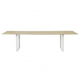 [Muuto/무토] 70/70 Table 295 x 108 Oak - White // 70/70 테이블 295 x 108 오크 - 화이트