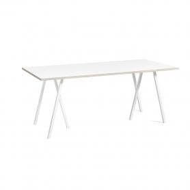 [HAY/헤이] Loop Stand Table 180 - White // 루프 스탠드 테이블 180 - 화이트