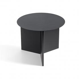 [Hay/헤이] Slit Table Round - Black // 슬릿 테이블 라운드 - Black