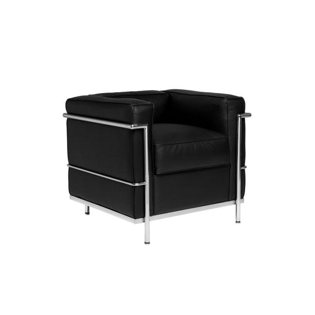 [Cassina/까시나] LC2 Sofa (1 Seat) 구스폼 // LC2 소파 (1 시트) 구스폼