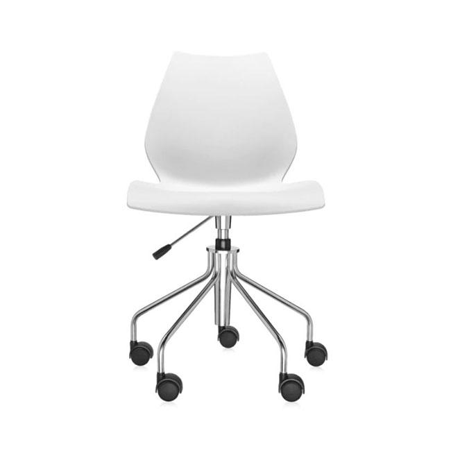 [Kartell/카르텔] Maui Office Chair, White // 마우이 오피스 체어, 화이트