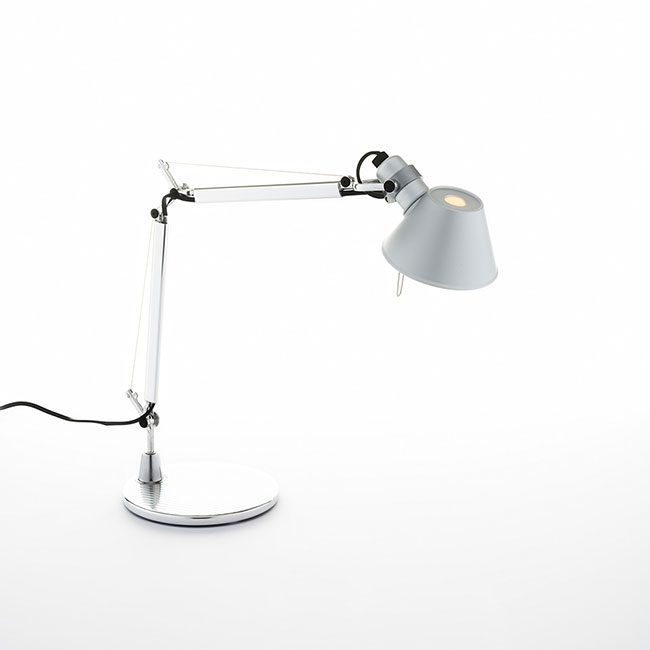 [Artemide/아르떼미데] Tolomeo Micro Table - Aluminium // 톨로메오 마이크로 테이블 - 알루미늄