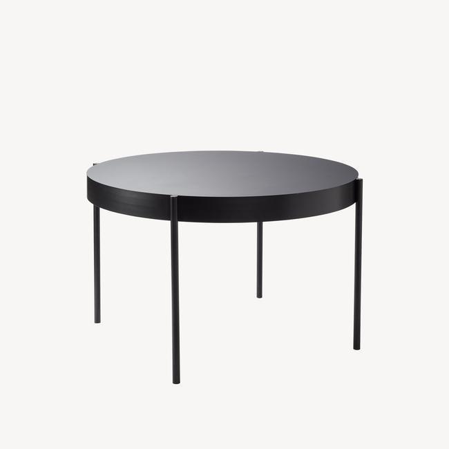 [Verpan/베르판] Series 430 Table - Ø120, Black