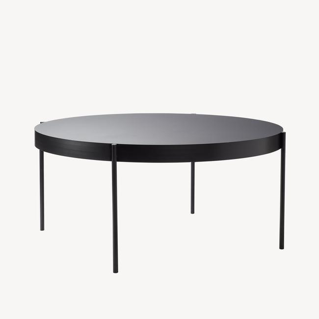 [Verpan/베르판] Series 430 Table - Ø160, Black
