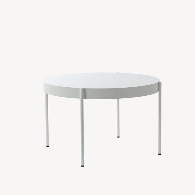 [Verpan/베르판] Series 430 Table - Ø120, White
