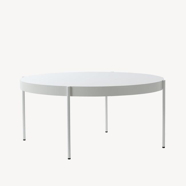 [Verpan/베르판] Series 430 Table - Ø160, White