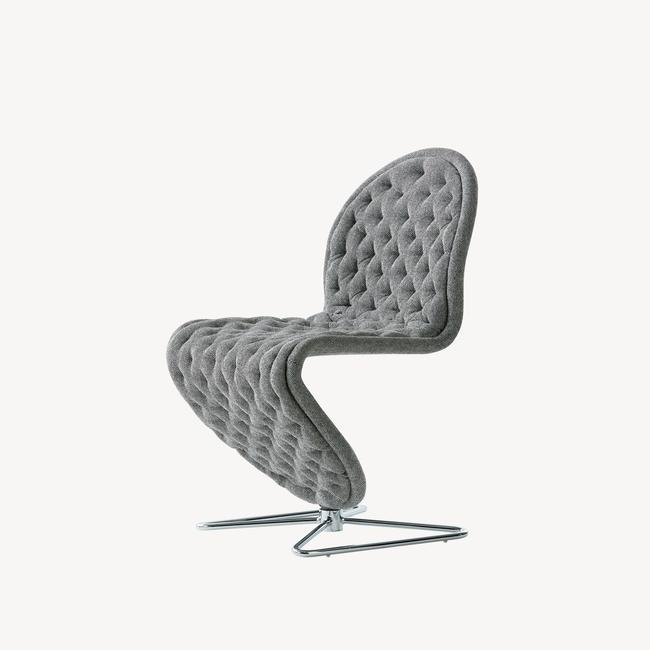[Verpan/베르판] System 1-2-3 Dining Chair Deluxe - Butterfly base
