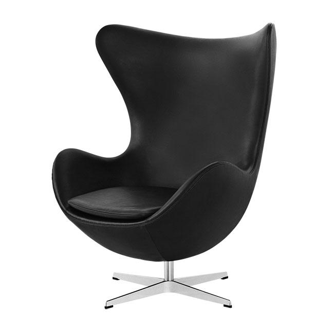 [Fritz Hansen/프리츠한센] EGG Lounge chair (Leather Cat.4) // 에그 라운지 체어 (레더 Cat.4)