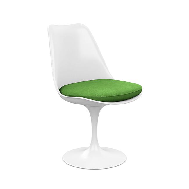 [Knoll/놀] Saarinen Tulip Chair, Fixed-Fabric Cat.A // 사리넨 튤립 체어, 고정-패브릭 Cat.A