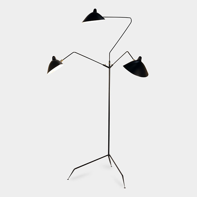 [Serge Mouille/세르주 무이] Standing lamp 3 rotating arms (2 colors) // 스탠딩 램프 3 로테이팅 암즈 (2 colors)