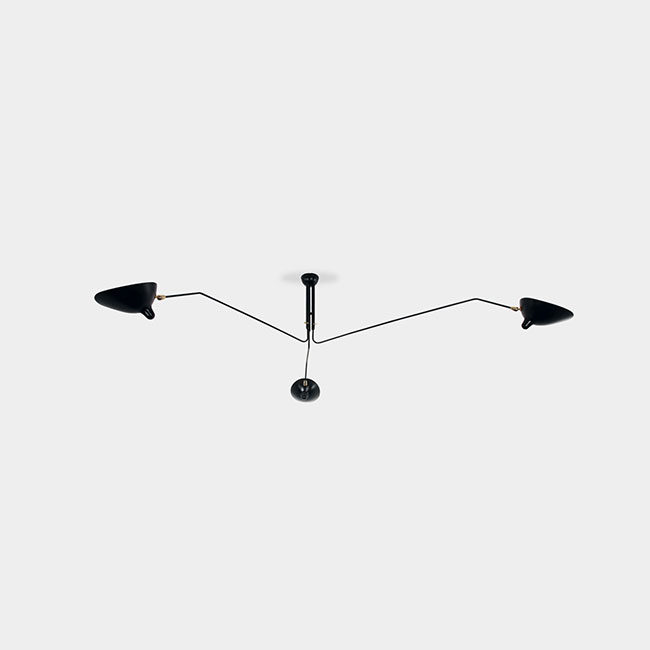 [Serge Mouille/세르주 무이] Ceiling lamp 3 rotating arms (2 colors) // 실링 램프 3 로테이팅 암 (2 colors)