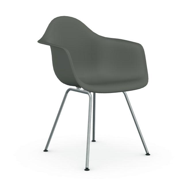 [Vitra/비트라] Eames Plastic Chair DAX - Black Base / 56 granite grey // [국내재고] 임스 플라스틱 체어 DAX - 블랙 베이스 / 56 그라나이트 그레이