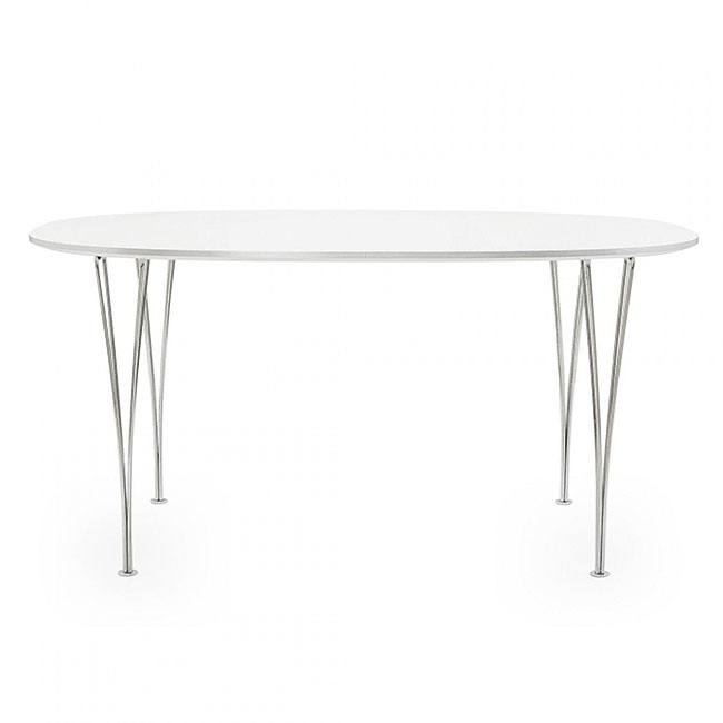 [Fritz Hansen/프리츠한센] Super-Elliptical Table (B611, 90x135) // 슈퍼-엘립티컬 테이블 (B611, 90x135)