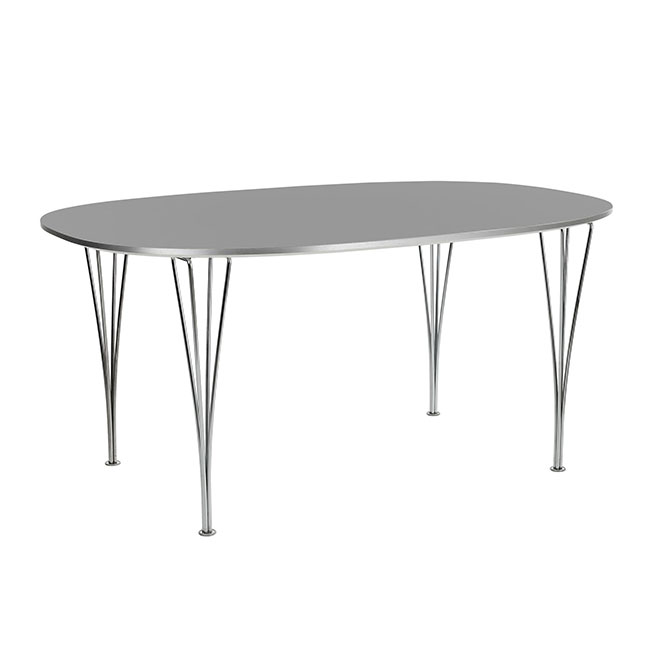 [Fritz Hansen/프리츠한센] Super-Elliptical Table (B612, 100x150) // 슈퍼-엘립티컬 테이블 (B612, 100x150)